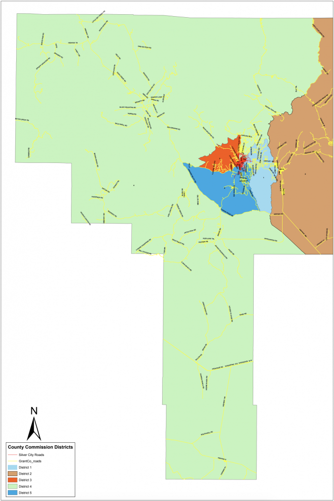 Grant County District 4 Map